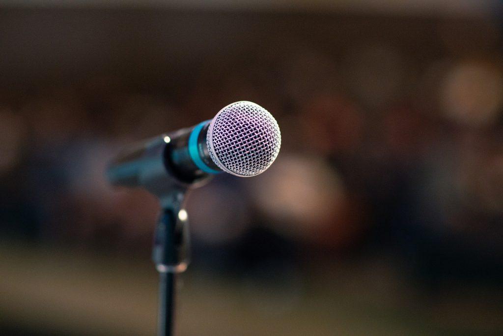 Vocalcoaching Mikrofon